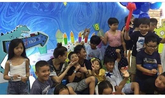 Cường Đô la - Hồ Ngọc Hà vui vẻ và tình cảm bên Subeo