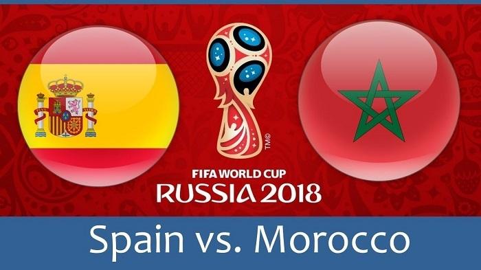 Dự đoán kết quả tỷ số World Cup 2018 giữa đội tuyển Tây Ban Nha và Ma Rốc