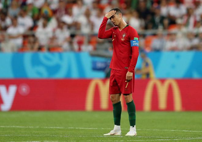 C.Ronaldo đã gây thất vọng tràn trề trong trận đấu với Iran