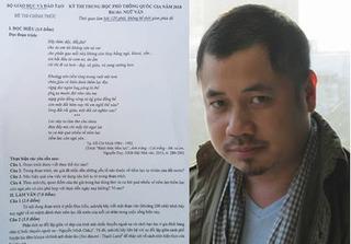 Nhà báo Phạm Gia Hiền: Đề Văn năm nay xứng đáng để dư luận cả nước phân tích