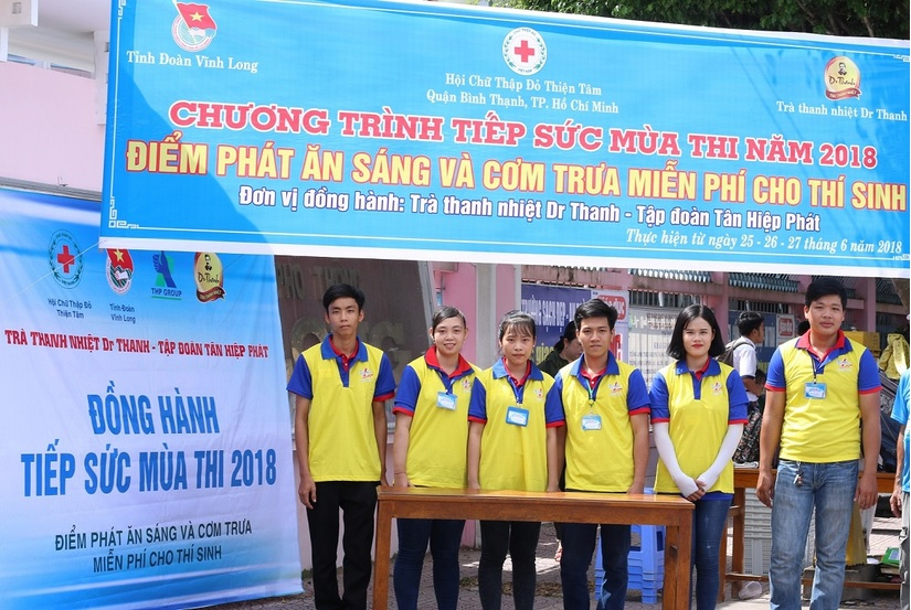 Tân Hiệp Phát tiếp sức cho các sĩ tử trong kỳ thi THPT quốc gia