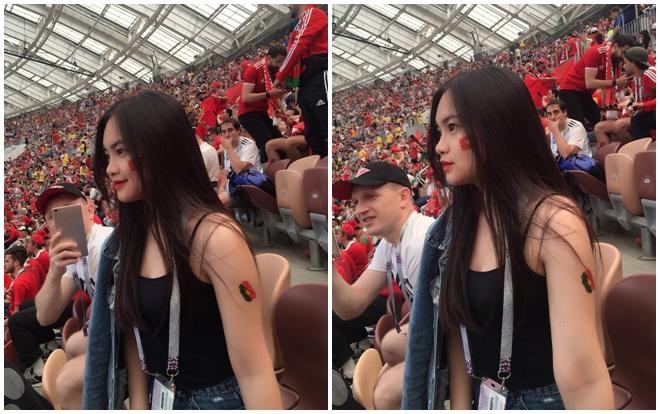 thiếu nữ Việt khiến dân tình ghen tị, World Cup