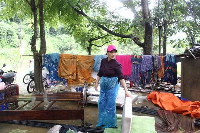 Sau mưa lớn, lũ quét ở Hà Giang còn lại những lớp bùn non7