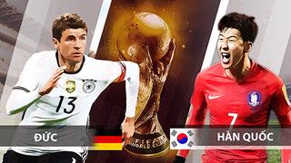 Dự đoán kết quả tỷ số World Cup 2018 giữa đội tuyển Đức và Hàn Quốc