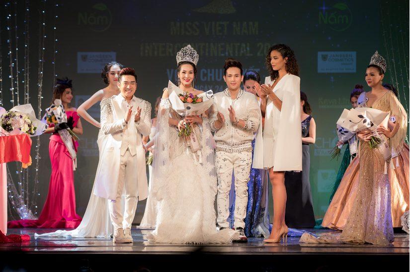 Loan Vũ đăng quang Hoa hậu doanh nhân người Việt Liên lục địa