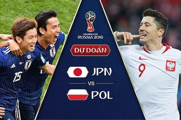 Dự đoán kết quả tỷ số World Cup 2018 giữa đội tuyển Nhật Bản và Ba Lan