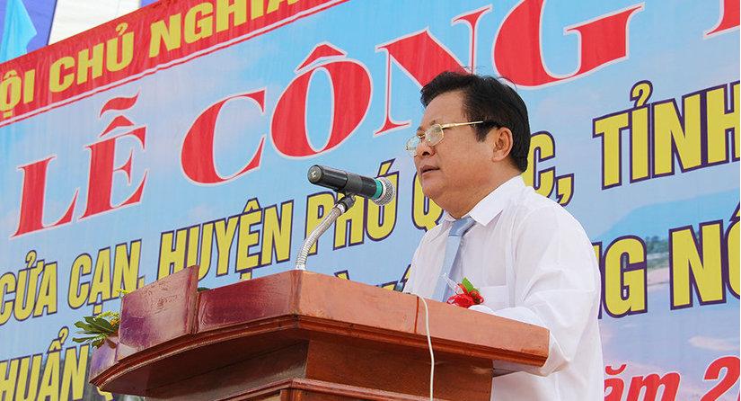 Thực hư thông tin Chủ tịch huyện Phú Quốc sẽ được cho thôi chức