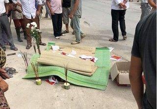 Thanh Hóa: Xe máy va chạm với xe tải, 1 người tử vong tại chỗ