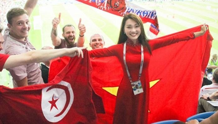 Bình Minh sang Nga xem World Cup 2018