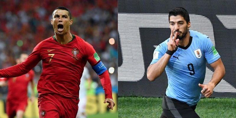 Dự đoán kết quả tỷ số World Cup 2018 giữa đội tuyển Bồ Đào Nha và Uruguay