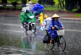 Dự báo thời tiết ngày 5/7: Bắc Bộ có thể mưa dông từ chiều mai