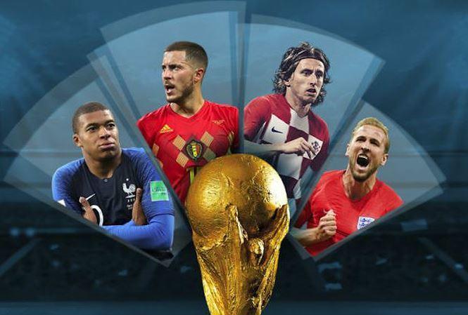 Dự đoán kết quả tỷ số Bán kết World Cup 2018 Anh và Croatia