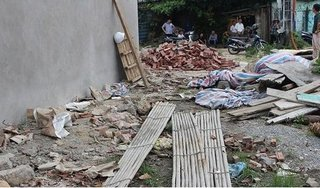 Quảng Ninh: Sập giàn giáo tầng 3, hai thợ xây tử vong tại chỗ