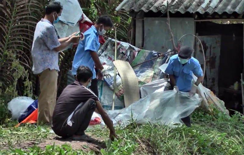 Bà lão U70 bị giết, thi thể giấu trong lu cám ở Trà Vinh