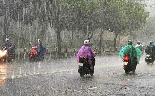 Dự báo thời tiết 10/7: Bắc Bộ và Bắc Trung Bộ mưa to và dông