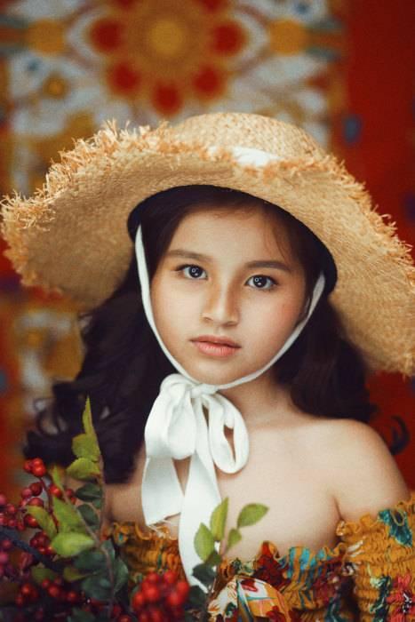 mẫu nhí Nguyễn Hoàng Linh, mẫu nhí