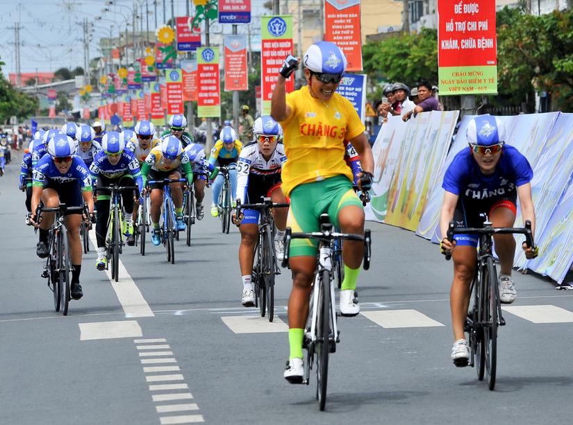 Tân Hiệp Phát tài trợ Giải xe đạp nữ toàn quốc