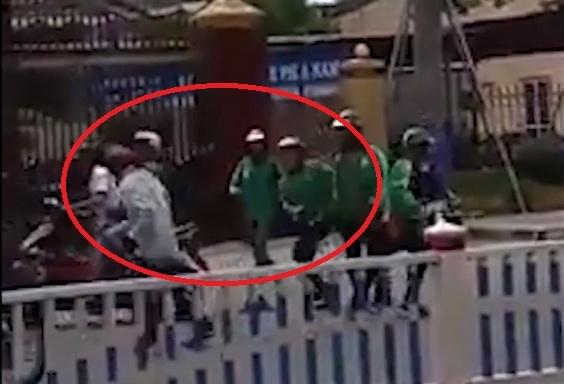 TP. Huế: Nhóm tài xế Grab đuổi chém kinh hoàng tài xế xe ôm