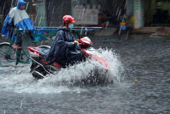 Dự báo thời tiết 11/7: Bắc Bộ mưa dông, xuất hiện áp thấp trên biển