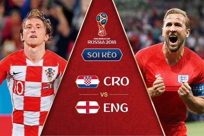 Trực tiếp bán kết World cup 2018 Anh và Croatia: Lần đầu cho Croatia