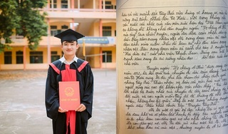 Chàng trai đạt 9,75 điểm môn Ngữ Văn: Chữ nắn nót trên 8 mặt giấy, có vốn sống tốt, tư duy mạch lạc