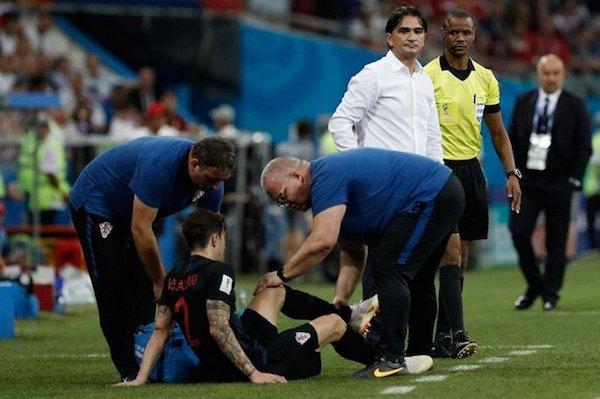 đội tuyển Anh và Croatia sẽ chạm trán nhau ở bán kết World Cup 2018