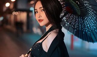 Hoa hậu Đại dương Lê Âu Ngân Anh khoe vẻ đẹp không tỳ vết