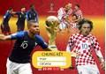Dự đoán kết quả trận chung kết World cup 2018 Pháp-Croatia: Sức trẻ đọ kinh nghiệm