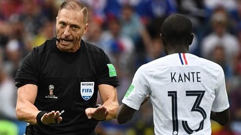 Xác định trọng tài bắt chính trận chung kết World Cup 2018