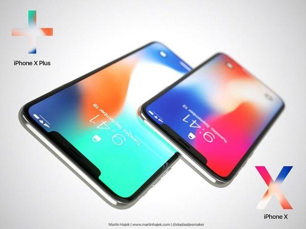 IPhone X Plus và Galaxy Note 93