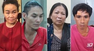 Tụ điểm ma túy chăng bẫy điện dây thép gai của hai mẹ con ở Nam Định