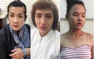 Ba nam chuyển giới rủ khách mua dâm thực hiện hàng loạt vụ trộm tài sản