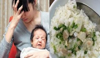 Bế con chờ ăn sáng, mẹ trẻ nuốt nghẹn bát cơm chan nước canh nhà chồng phần lại