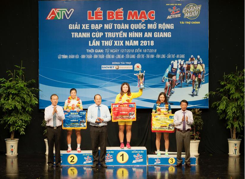 Giải đua xe đạp nữ do Tập đoàn Tân Hiệp Phát tài trợ kết thúc tốt đẹp