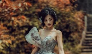 Khánh Linh The Face đẹp tựa nữ thần khi diện váy cưới