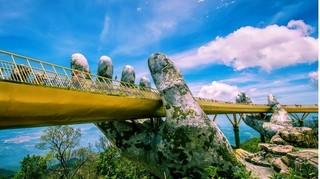 Cầu Vàng – Đà Nẵng: Địa điểm du lịch khiến dân tình 'sốt xình xịch'