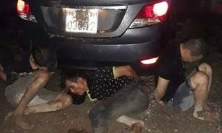 Đi ô tô đến nhà trưởng công an xã trộm xe máy, nhóm trộm bị bắt giữ