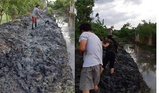 Thái Bình: Bị tố múc bùn đổ kín lối đi của dân, trưởng thôn trần tình