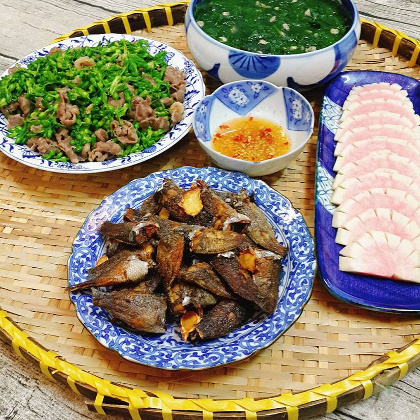 Vợ đảm đang nấu những món ngon miễn chê10