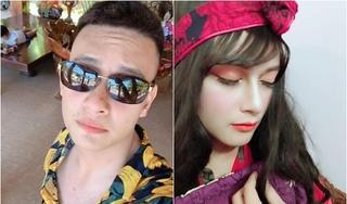 Chàng trai 'biến hình' thành gái xinh nhờ cô vợ học makeup