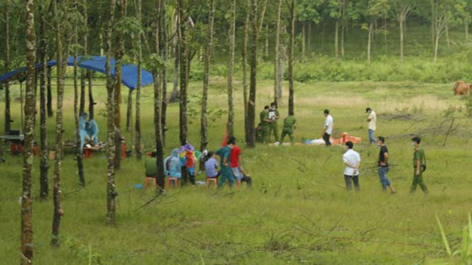 Vụ thi thể trong bao tải ở Bình Phước: Xác định là án mạng, phi tang xác