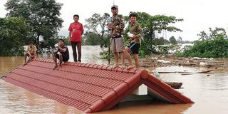 Vỡ đập thủy điện ở Lào, hàng trăm người mất tích, hàng nghìn ngôi nhà bị nhấn chìm