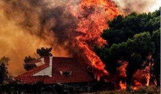 Clip: Cháy rừng khủng khiếp khiến 74 người thiệt mạng ở Hy Lạp