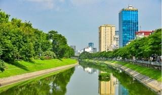 Sông Tô Lịch 'lột xác' sau những đợt mưa lớn liên tục