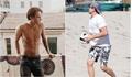 Leonardo Dicaprio vẫn xuất hiện trong hình ảnh 'ông chú bụng bia'