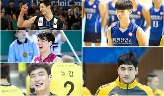 5 'nam thần bóng chuyền' Hàn Quốc cao trên 1m9 nổi tiếng trên mạng