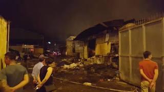 Cháy chợ Gạo ở Hưng Yên: 'Ngọn lửa bùng lên, tôi nghe thấy tiếng kêu cứu của 2 cháu nhỏ'