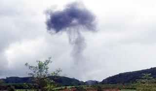 Máy bay quân sự rơi tại Nghệ An, 2 phi công hy sinh
