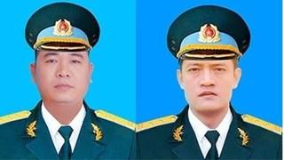 Truy thăng quân hàm cho 2 phi công hi sinh trong vụ máy bay rơi ở Nghệ An