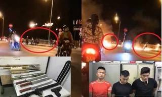 Clip: 60 thanh niên ném 'bom xăng', hỗn chiến kinh hoàng ở Nha Trang